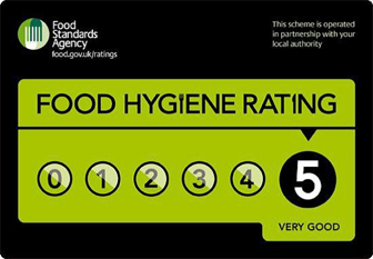 Dorset Chilli Shop 5 Star Food Hygiene Rating