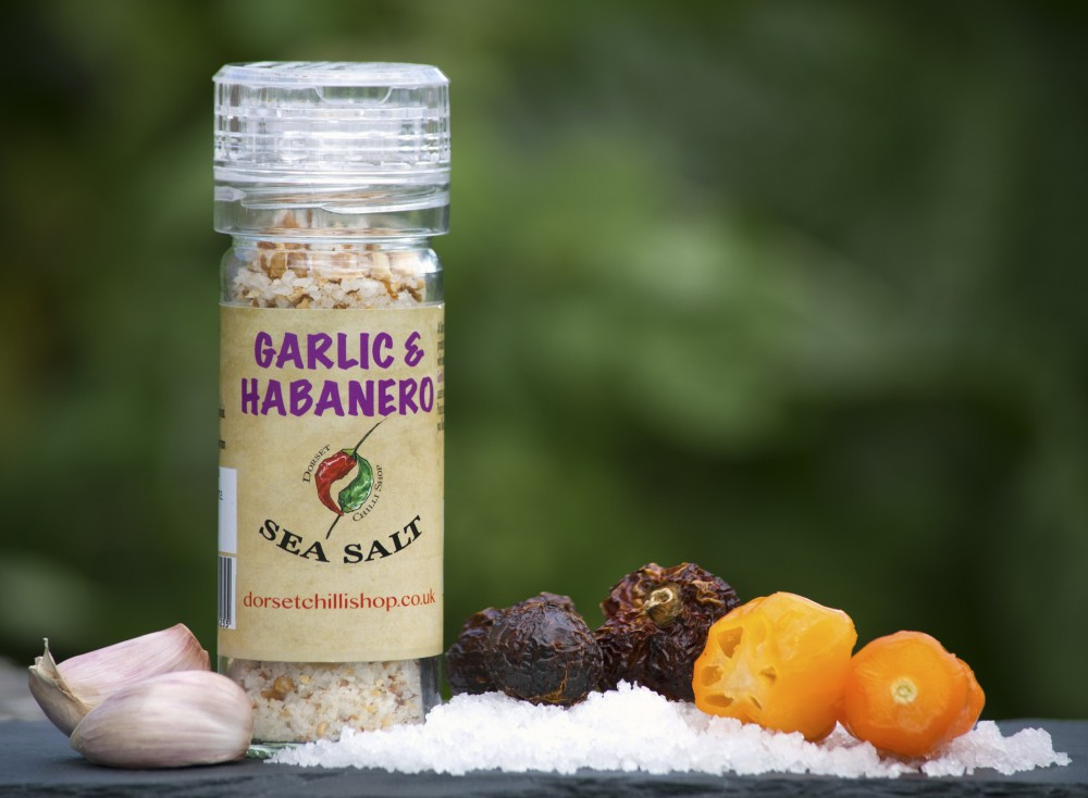 Image of Garlic & Habanero Hot Sea Salt