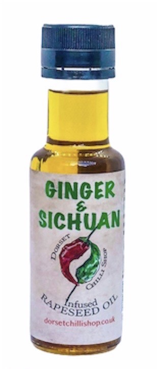 Image of Ginger & Sichuan Oil 100ml
