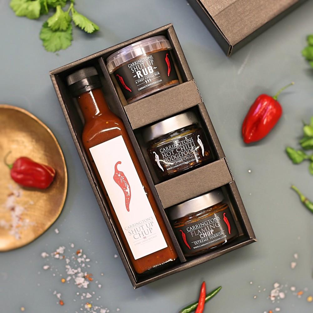 Image of Carrington's Hot Chilli Gift Box